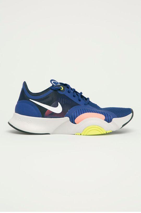 granatowy Nike - Buty Superrep Go Męski