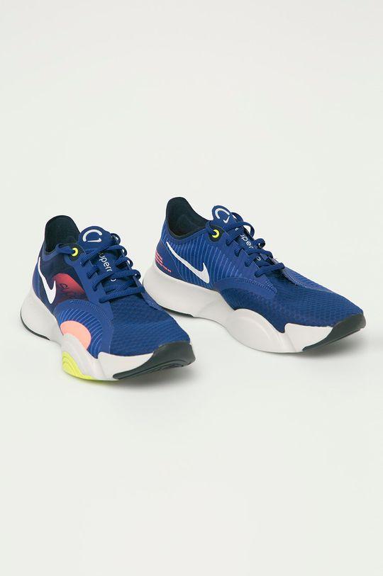 Nike - Buty Superrep Go granatowy