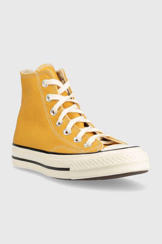 Converse - Trampki żółty