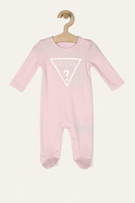 pastelově růžová Guess Jeans - Kojenecký overal 62-76 cm Chlapecký