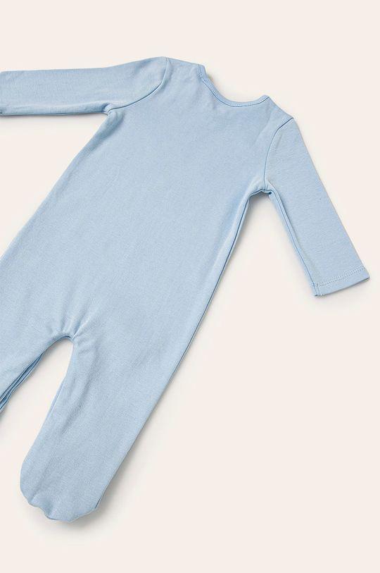 Guess Jeans - Pajacyk niemowlęcy 62-76 cm niebieski