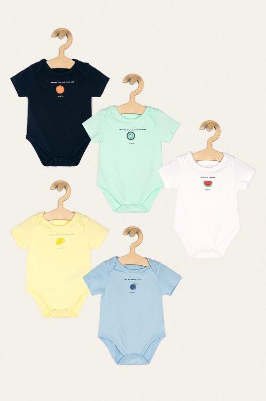 multicolor Guess Jeans - Body bebe 62-76 cm (5-pack) De băieți