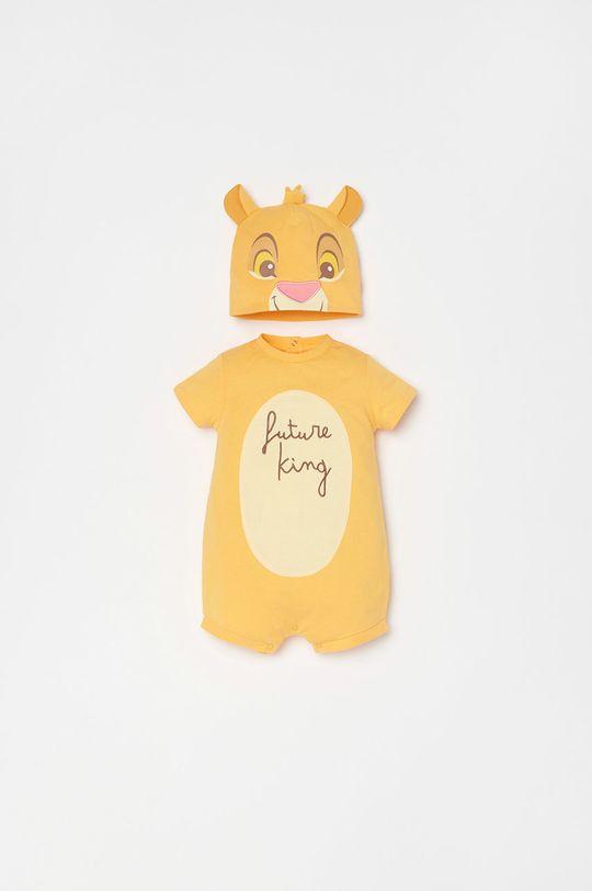 jantárová OVS - Čiapka a body pre bábätká x Disney 56-68 cm Chlapčenský