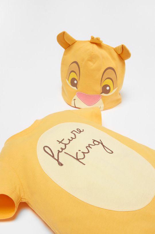 OVS - Čiapka a body pre bábätká x Disney 56-68 cm jantárová