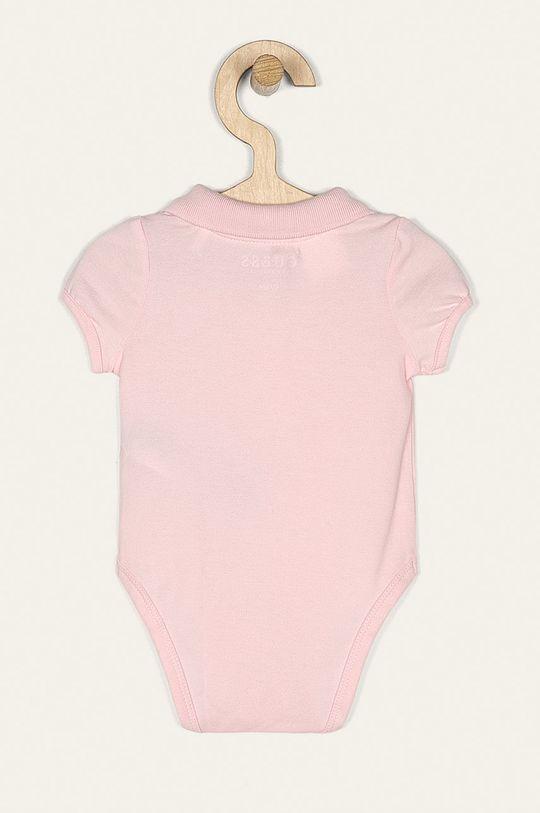 Guess Jeans - Body bebe 62-76 cm roz pastelat