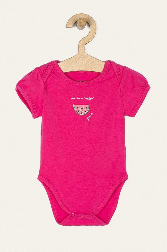 Guess Jeans - Body pre bábätká 55-76 cm (5-pak) viacfarebná