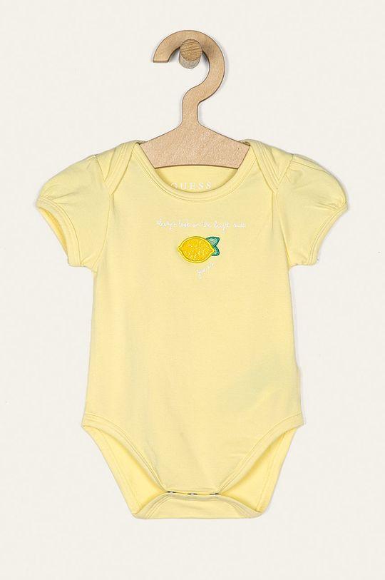 Guess Jeans - Body pre bábätká 55-76 cm (5-pak)  96% Bavlna, 4% Elastan
