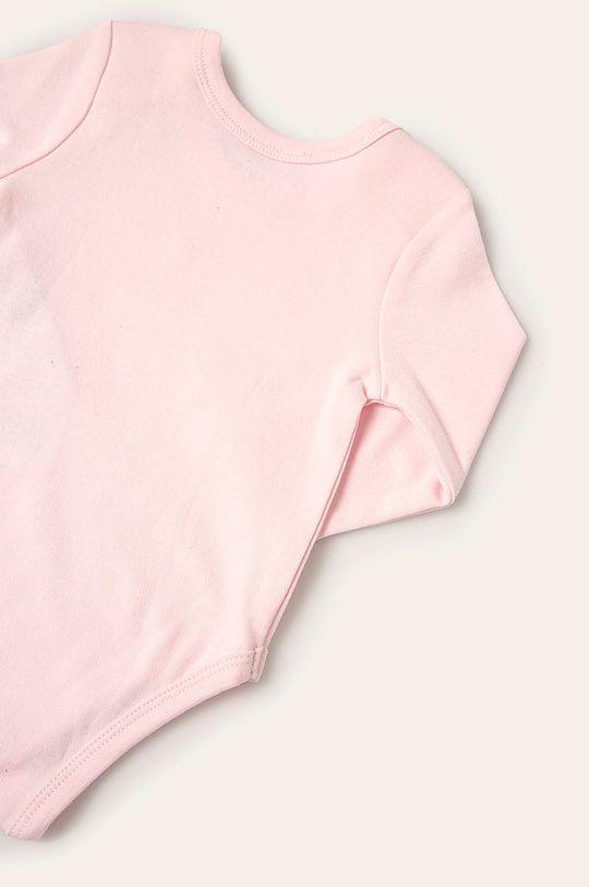 Guess Jeans - Kojenecký overal 62-76 cm pastelově růžová
