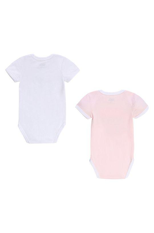 Karl Lagerfeld - Body niemowlęce 60-81 cm (2-pack) biały
