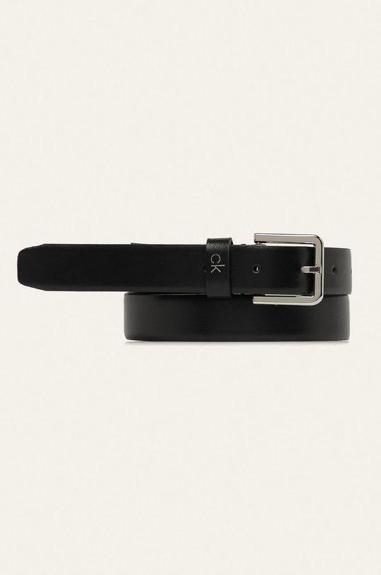 černá Calvin Klein - Kožený pásek Dámský