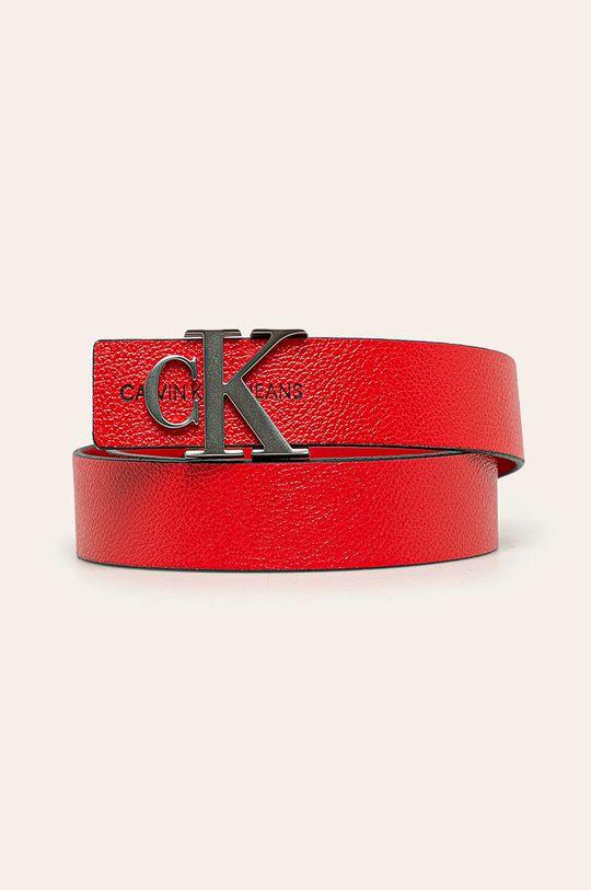 rosu Calvin Klein Jeans - Curea de piele De femei