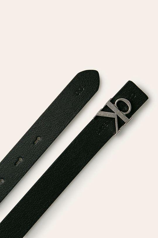 Calvin Klein Jeans - Curea de piele negru
