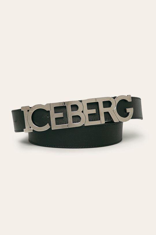 negru Iceberg - Curea de piele De femei