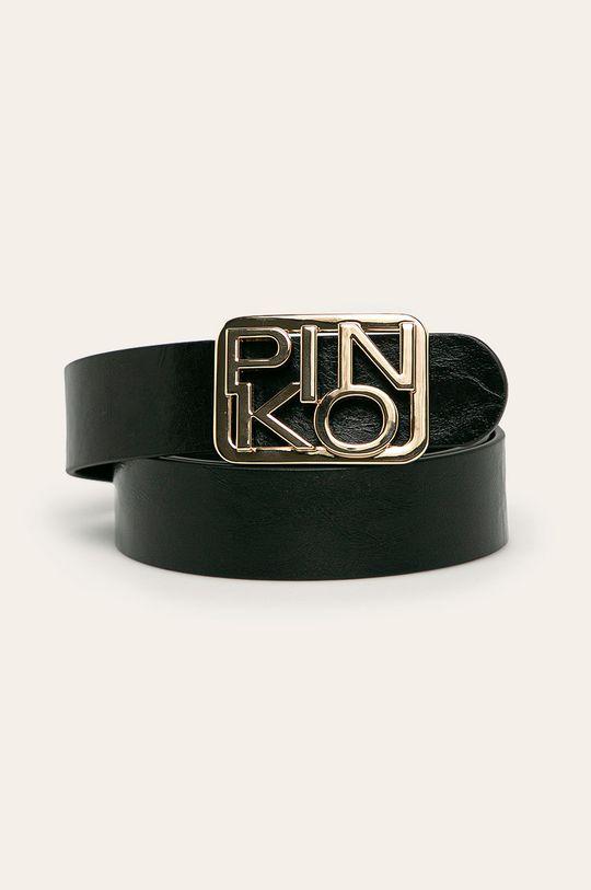 čierna Pinko - Kožený opasok Dámsky