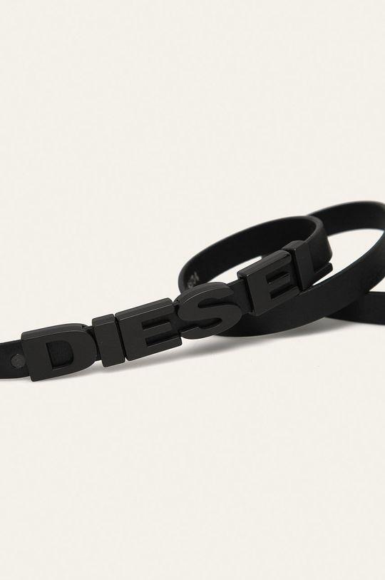 Diesel - Kožený pásek černá