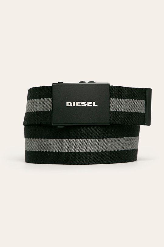 černá Diesel - Pásek Pánský