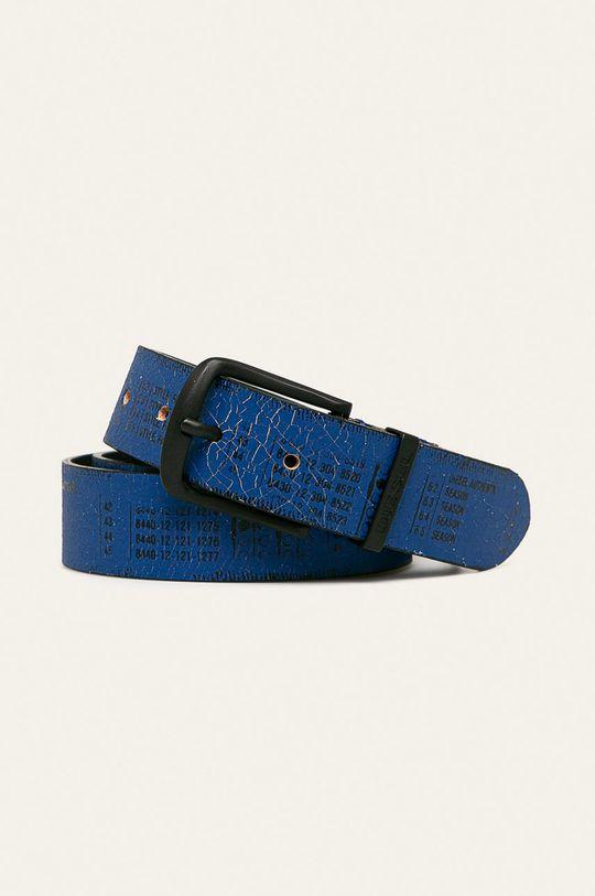 modrá Diesel - Kožený pásek Pánský