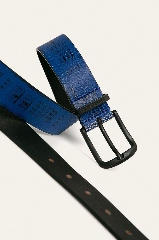 Diesel - Kožený pásek modrá