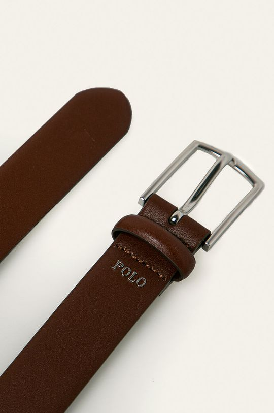 Polo Ralph Lauren - Kožený pásek hnědá