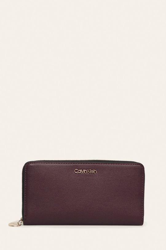 tmavě fialová Calvin Klein - Peněženka Dámský