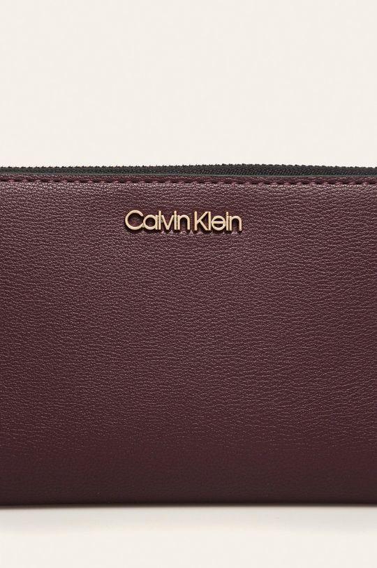 Calvin Klein - Peněženka tmavě fialová