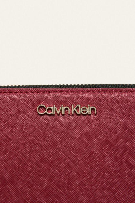 Calvin Klein - Peněženka kaštanová