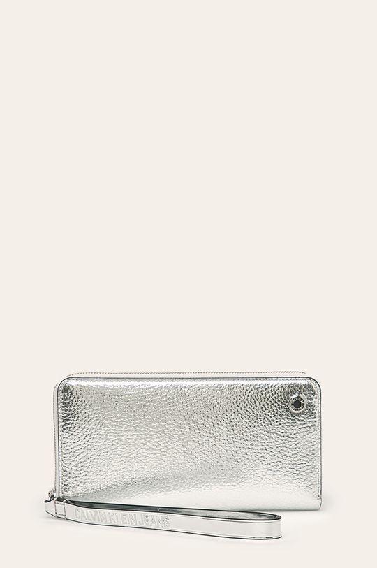stříbrná Calvin Klein Jeans - Peněženka Dámský