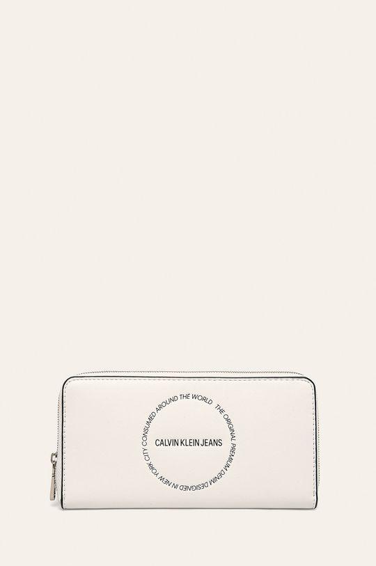 bílá Calvin Klein Jeans - Peněženka Dámský