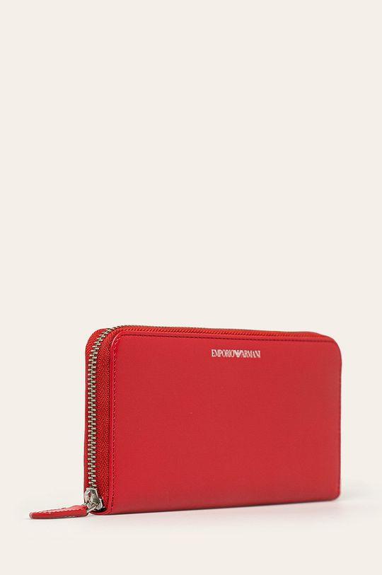 červená Emporio Armani - Kožená peňaženka