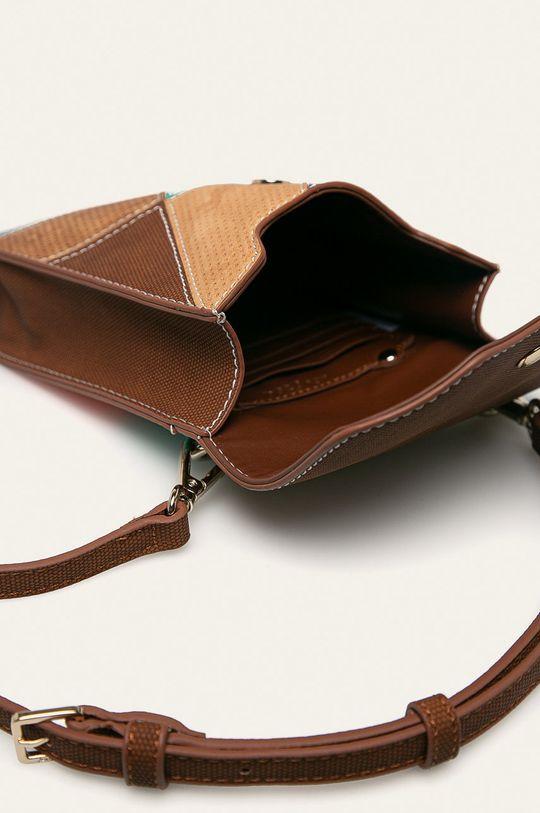 zlatohnedá Desigual - Malá taška