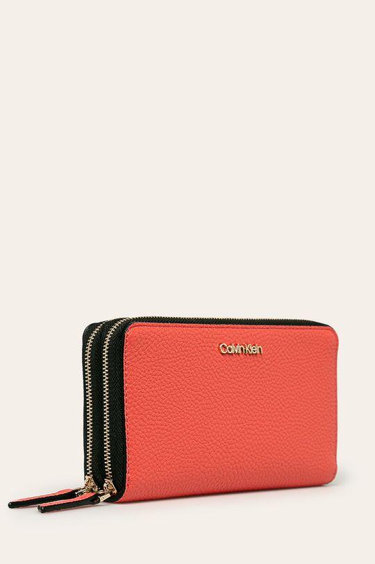 koralová Calvin Klein - Peňaženka