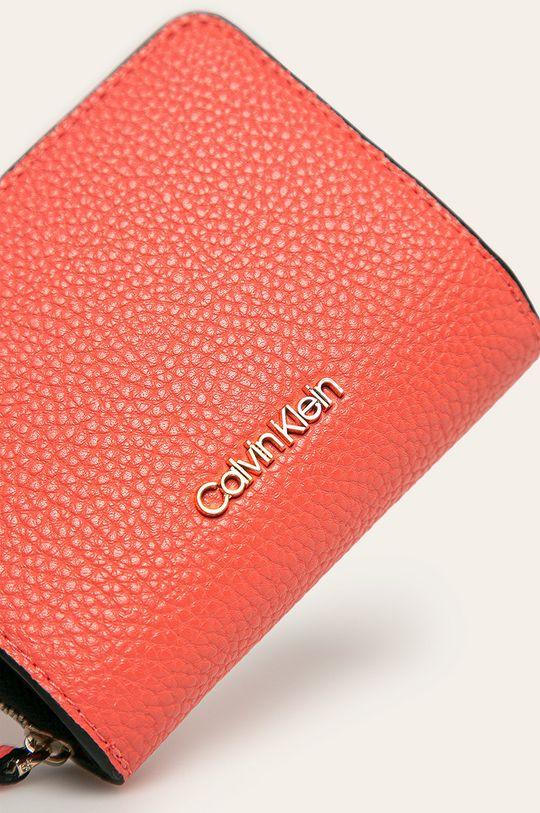 Calvin Klein - Peňaženka koralová