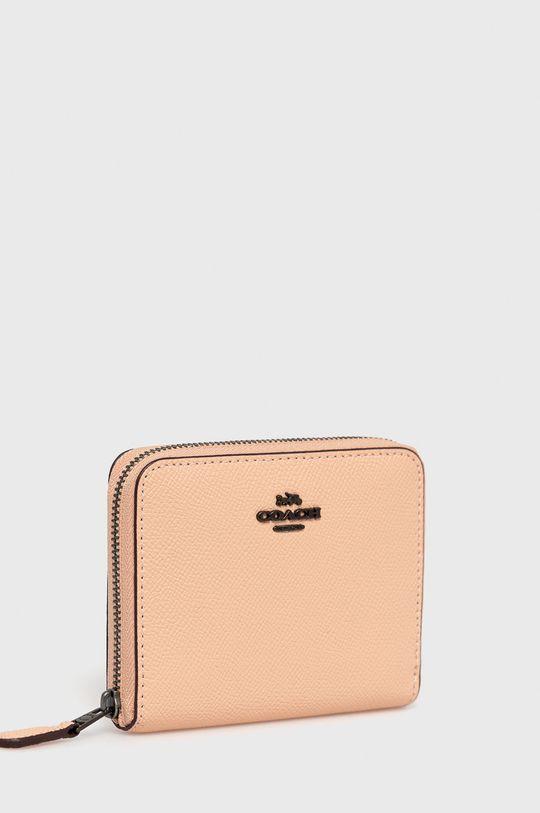 Coach - Kožená peňaženka staroružová