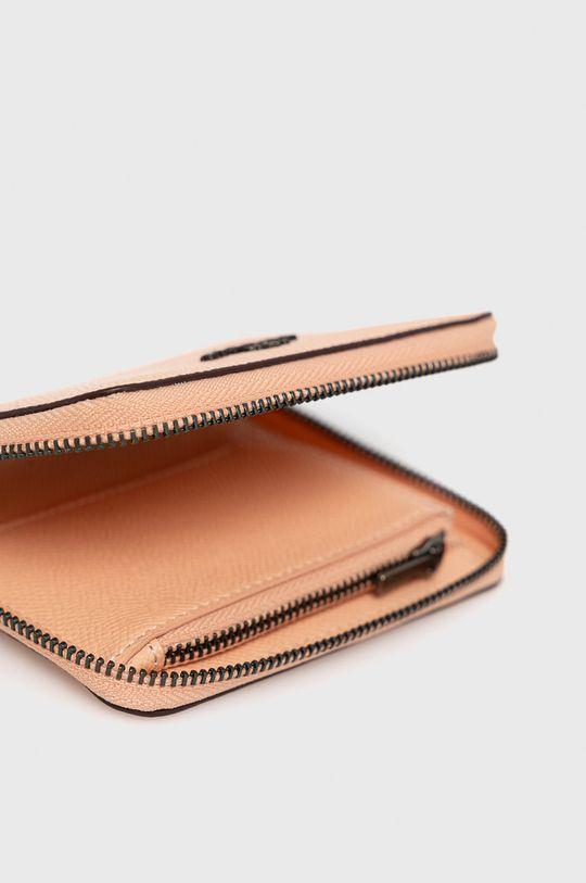 staroružová Coach - Kožená peňaženka