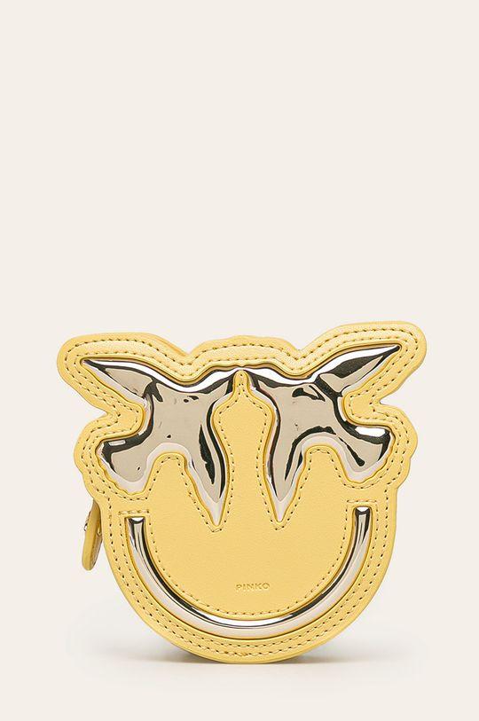 zlatá Pinko - Kožená peňaženka Dámsky