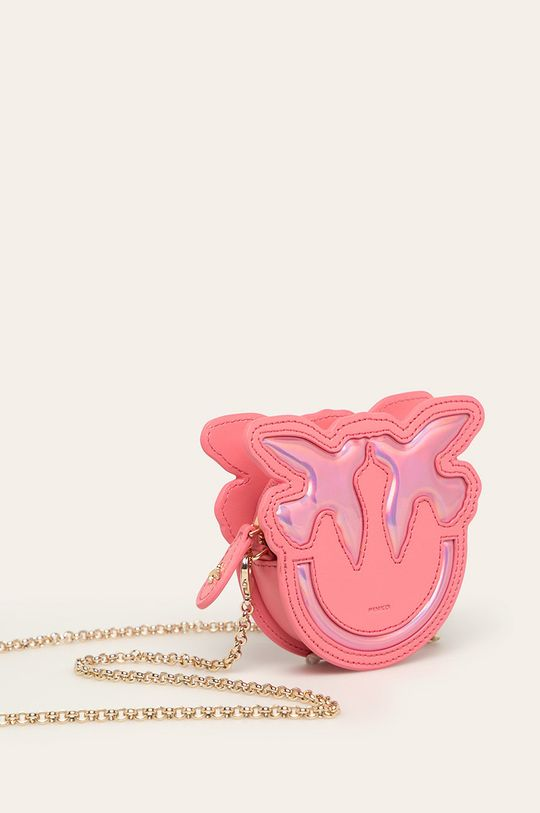 Pinko - Kožená peňaženka  Prírodná koža