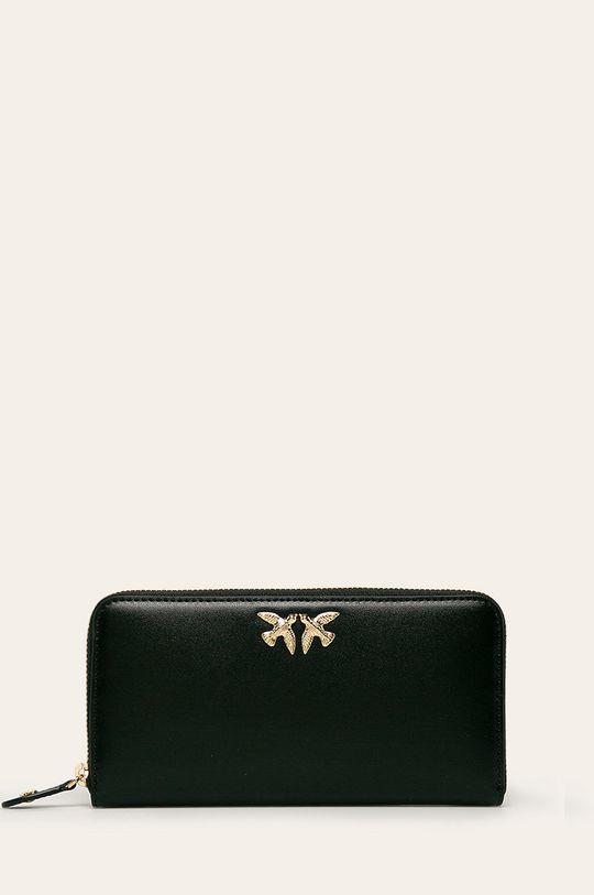 čierna Pinko - Kožená peňaženka Dámsky