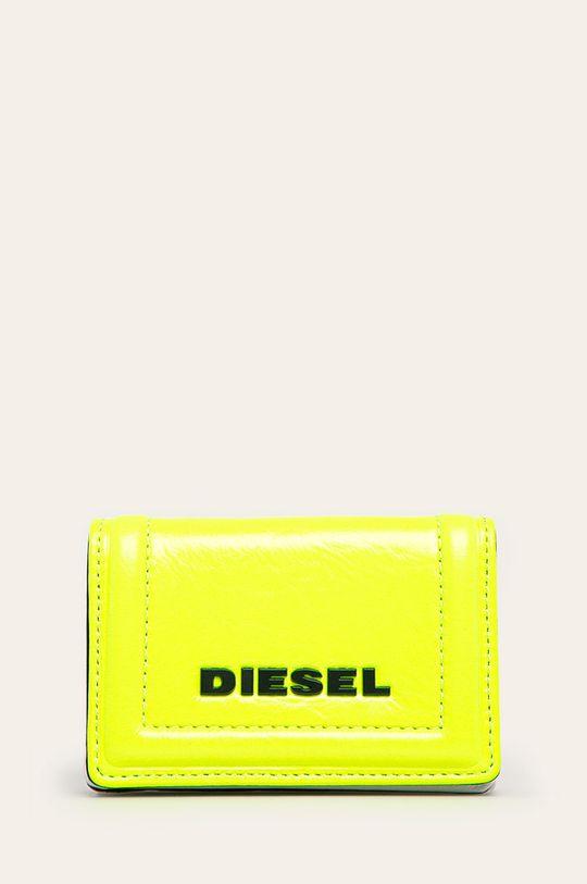 žlutá Diesel - Kožená peněženka Dámský