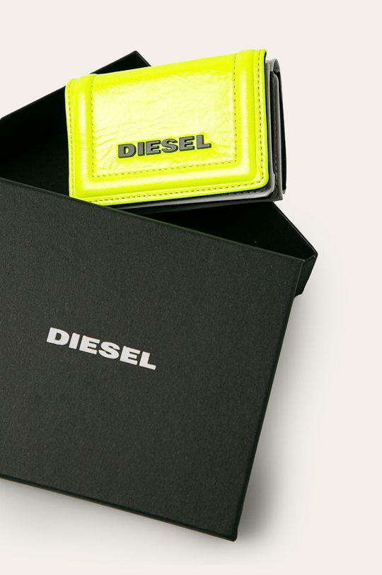 žlutá Diesel - Kožená peněženka