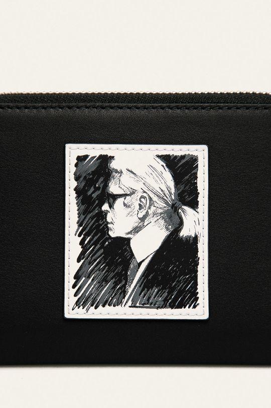 Karl Lagerfeld - Portofel de piele negru