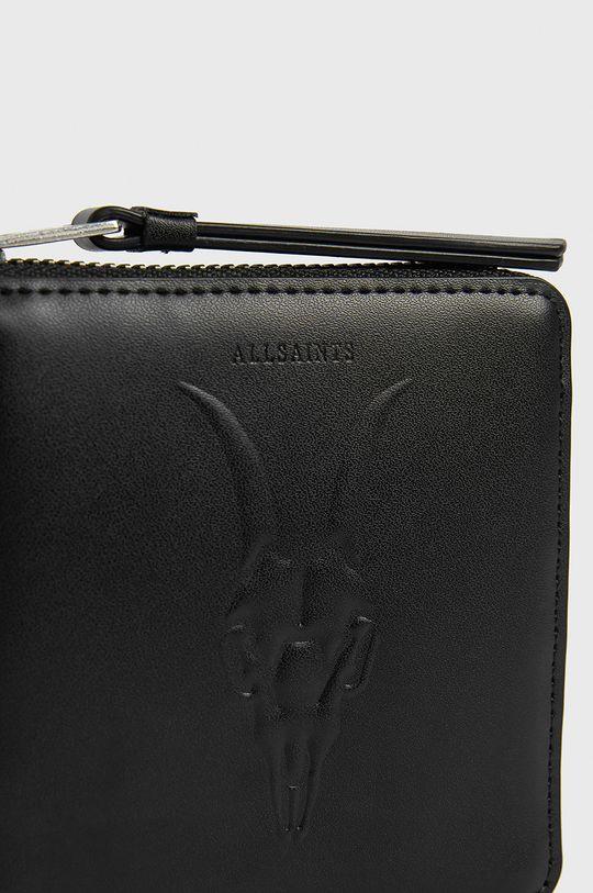 AllSaints - Kožená peněženka  100% Přírodní kůže