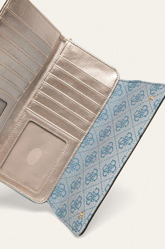 Guess Jeans - Peněženka světle modrá