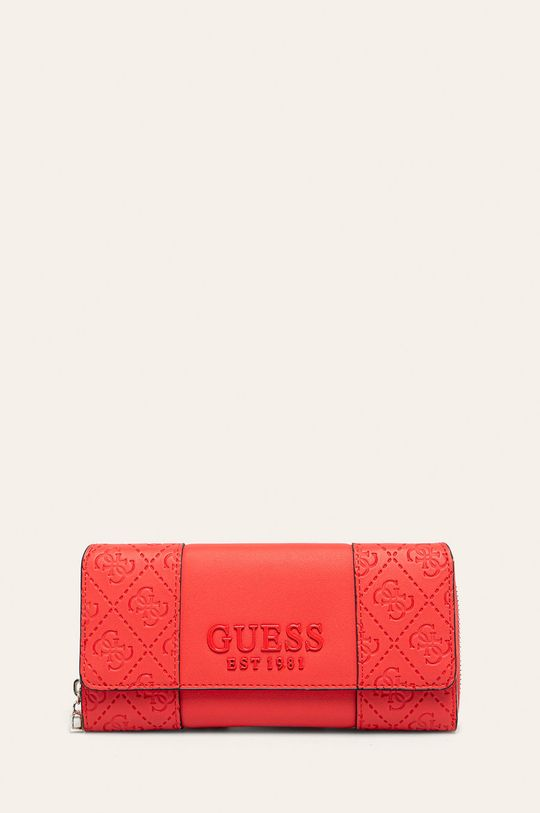 růžová Guess Jeans - Peněženka Dámský