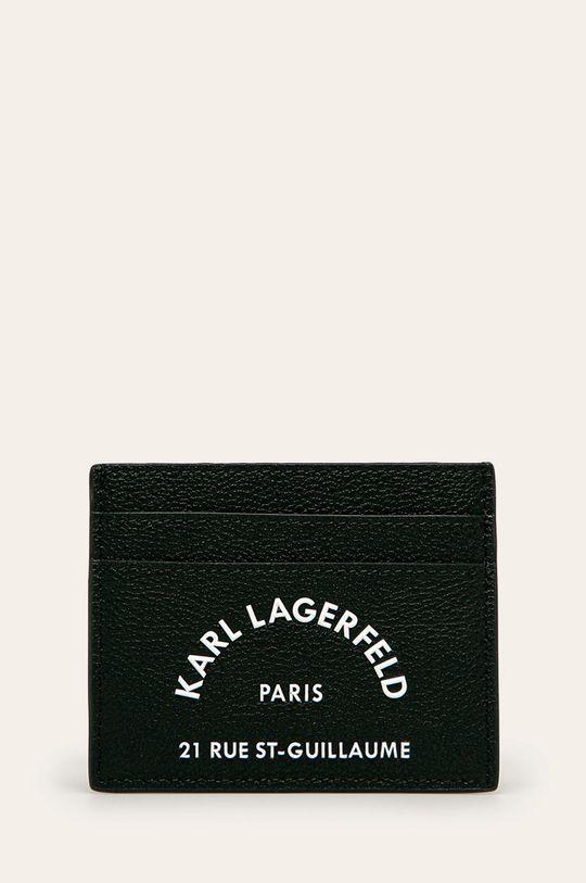 чорний Karl Lagerfeld - Шкіряний гаманець Жіночий