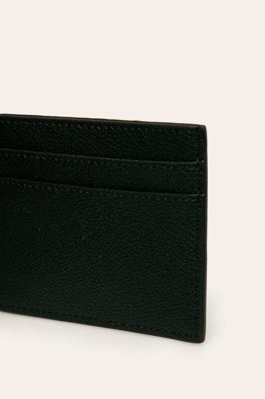 Karl Lagerfeld - Шкіряний гаманець чорний