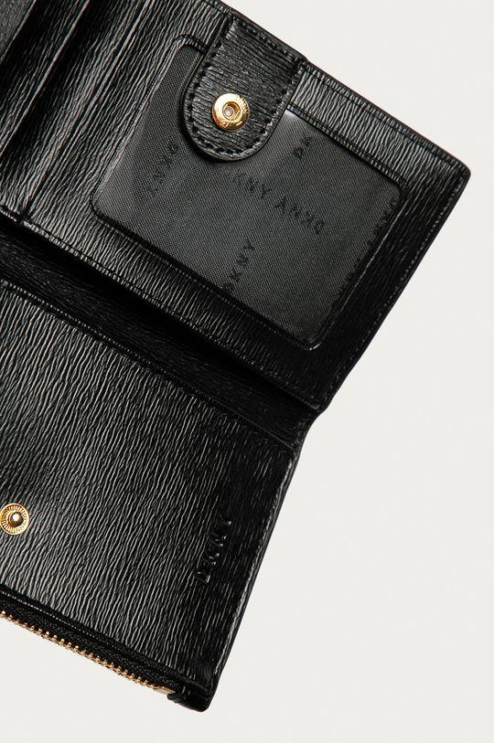 Dkny - Шкіряний гаманець чорний