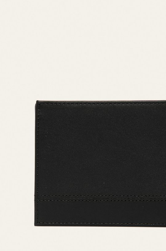 negru Tommy Hilfiger - Portofel de piele