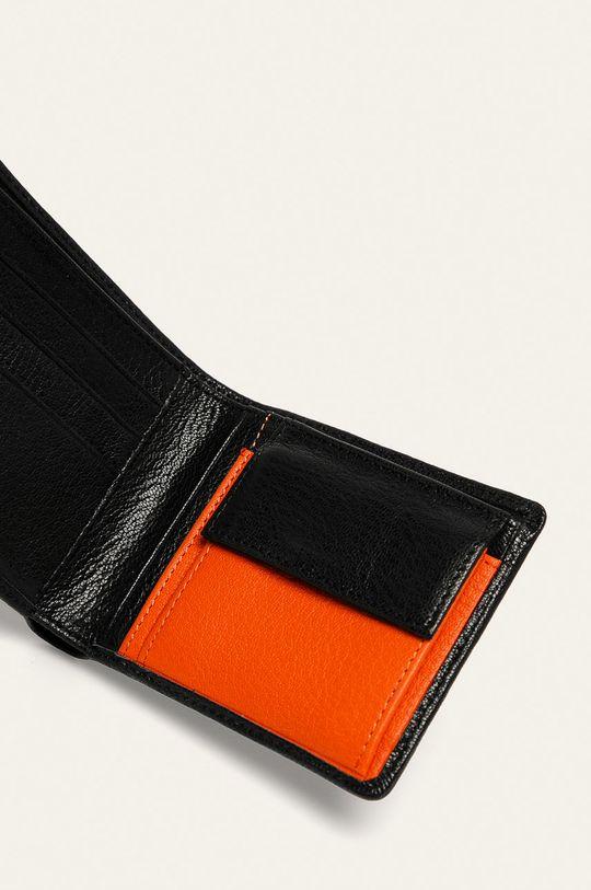Diesel - Kožená peněženka černá
