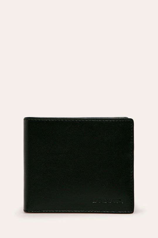 černá Diesel - Kožená peněženka Pánský