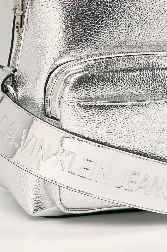 Calvin Klein Jeans - Rucsac argintiu